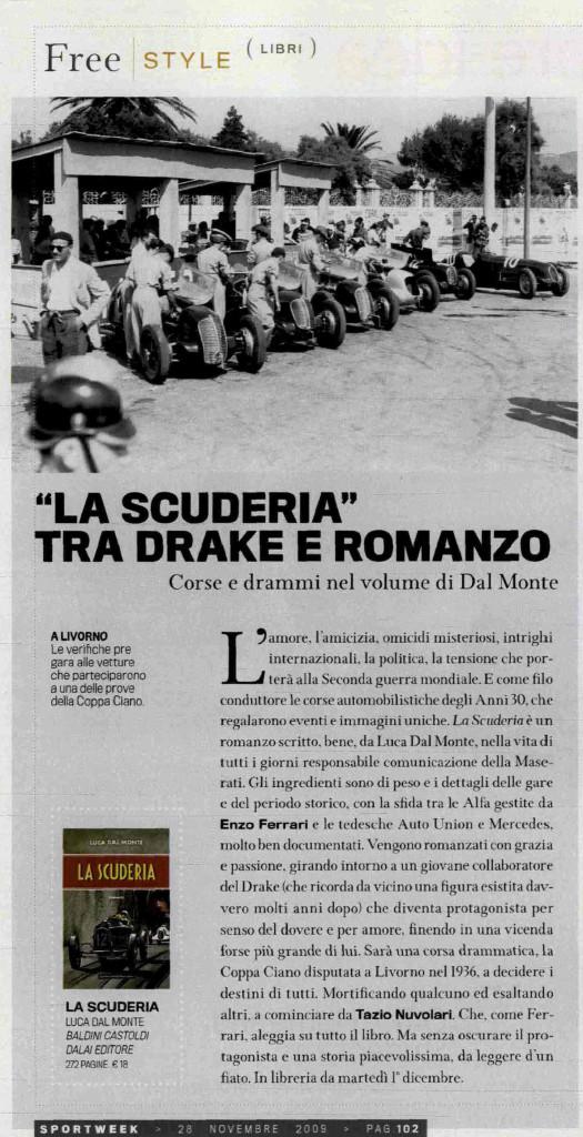 Sportweek 28 novembre 2009